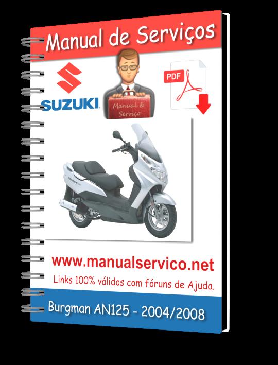 Suzuki burgman uh125 service manual pdf download.
