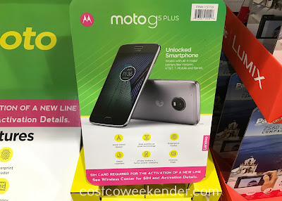 Make calls, send texts, or check your email with the Moto G5 Plus Smartphone