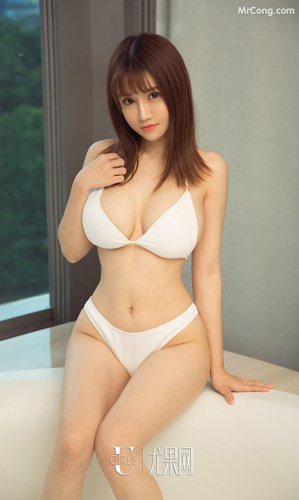 Image UGIRLS-Ai-You-Wu-App-No.1211-Zhou-Da-Meng-MrCong.com-007 in post UGIRLS – Ai You Wu App No.1211: Người mẫu Zhou Da Meng (周大萌) (35 ảnh)