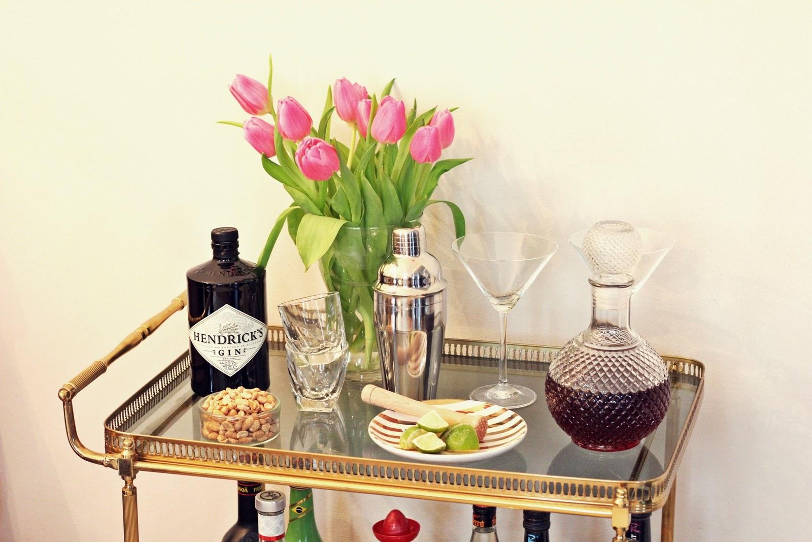 interior my new bar cart fashion kitchen. Black Bedroom Furniture Sets. Home Design Ideas