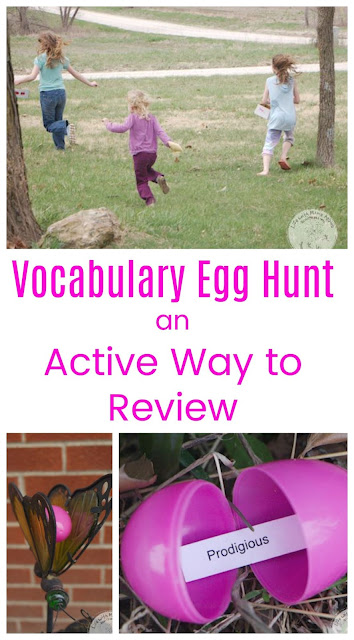 Vocabulary Egg Hunt: an Fun and Active Way to Review Words