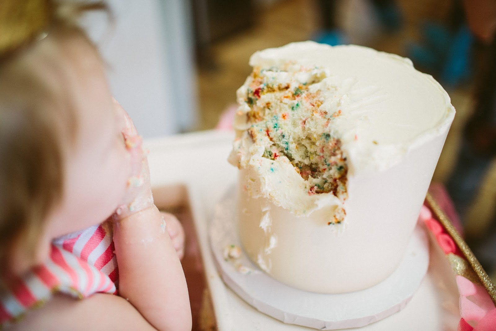 Smash Cake, Birthday Cake, Funfetti Smash cake