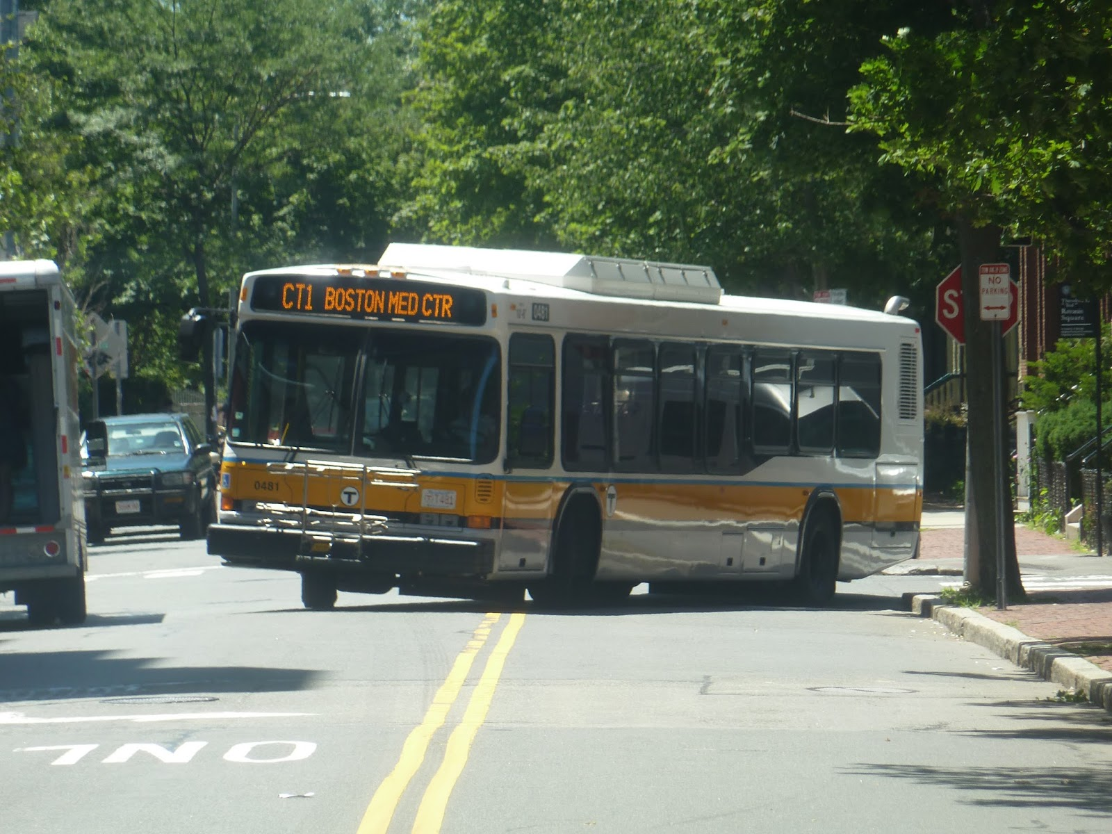 miles on the mbta: ct1 (central square, cambridge - bu medical
