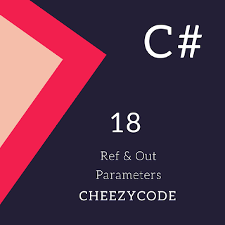 ref vs out parameters in C#