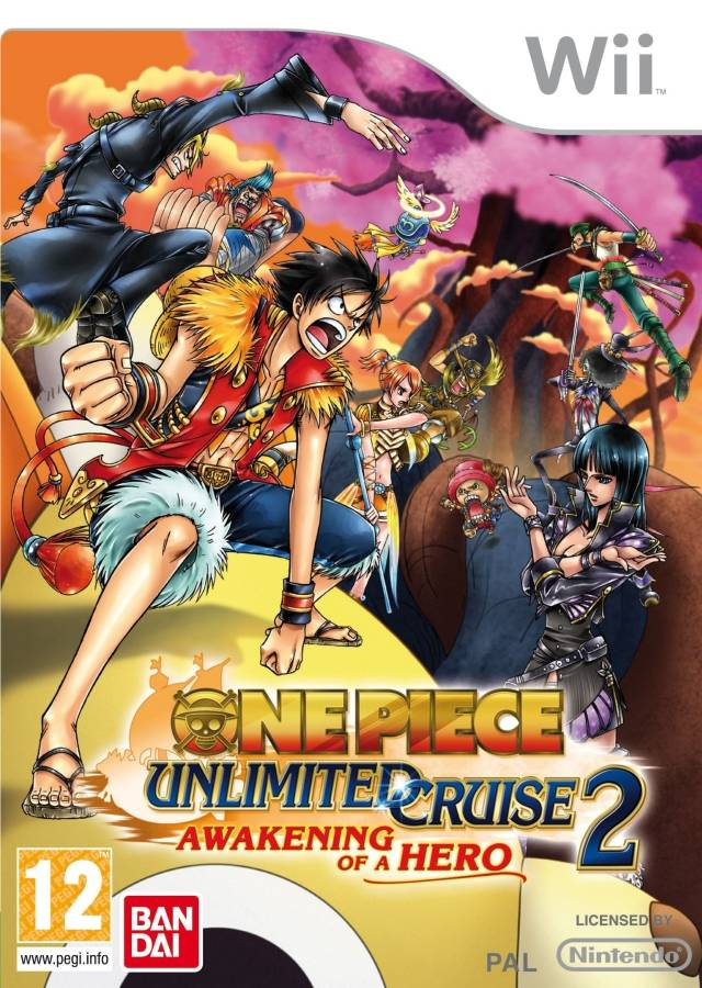 Chokocat's Anime Video Games: 2363 - One Piece (Nintendo Wii)