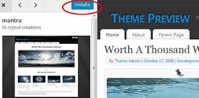 Come installare un tema su wordpress
