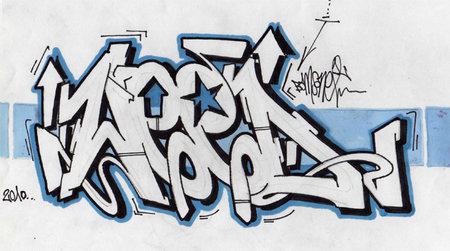 graffiti letters art