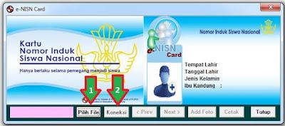 Aplikasi NISN dengan Barcode Dapodik