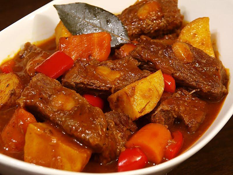 Filipino Beef Mechado Recipe | Lahat Sarap