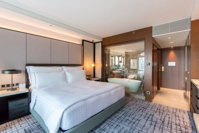 the newly renovated Conrad Bangkok hotel
