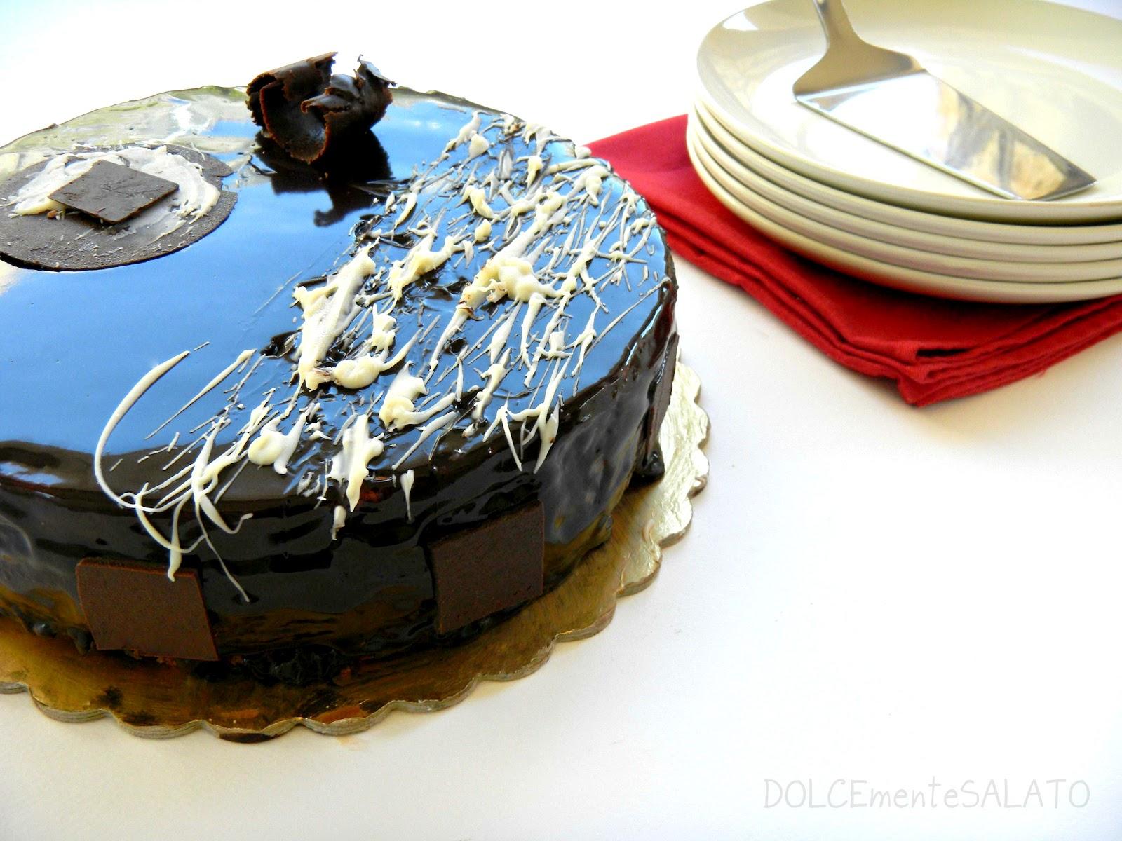 Dolcemente salato torta setteveli anzi settestrati - Decorazioni torte con glassa ...