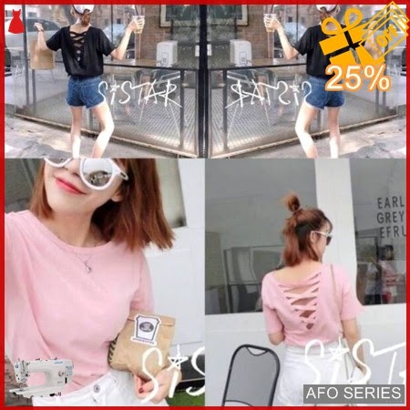AFO216 Model Fashion Sistara Top Modis Murah BMGShop