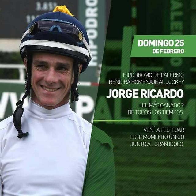 Jorge Ricardo Jockey más ganador de todos los tiempos