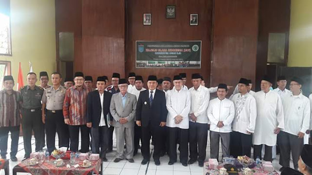 KH. Muhsin Qori Jabat Ketua MUI Ogan Ilir