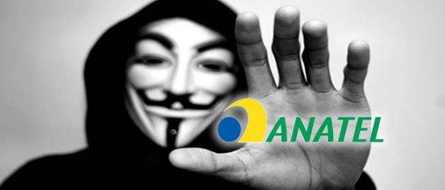 Guerra sem fim: Anonymous expõe dados pessoais de toda a diretoria da Anatel.