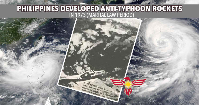 Anti Typhoon Rockets , Philippines, Martial Law