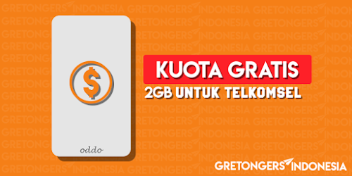 Cara Mendapatkan Kuota 2GB Gratis Untuk Kartu Telkomsel