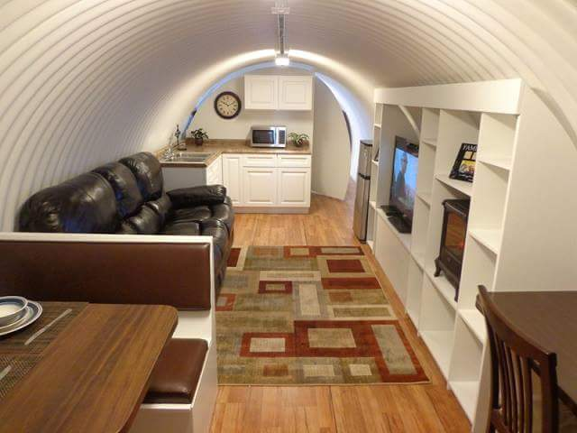 Quonset House Interior
