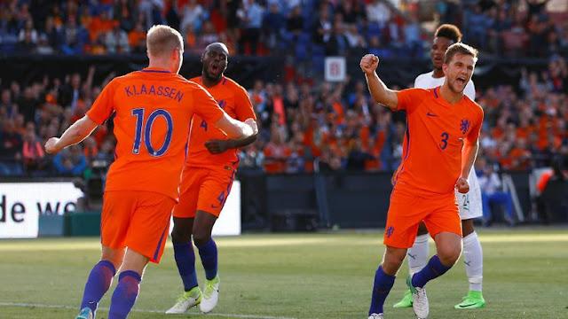 Belanda Libas Pantai Gading 5-0
