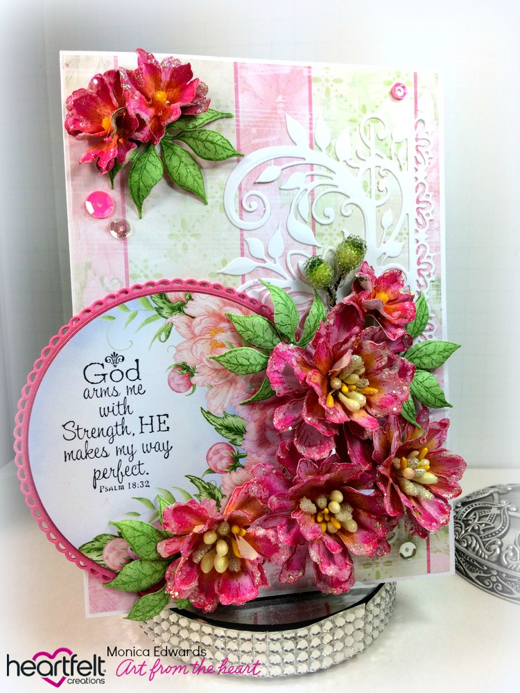 Heartfelt Creations Spellbinders Die ~ SMALL SWEET PEONY ~ HCD1-7173