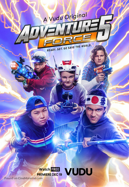 Adventure Force 5 (2019) English 480p WEB-DL 250MB ESubs