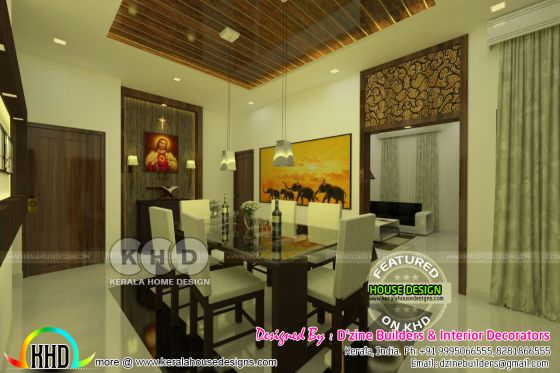 interiors by D'zine Builders & Interior Decorators
