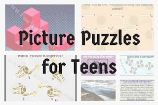 Picture Puzzles for Teens With Answers