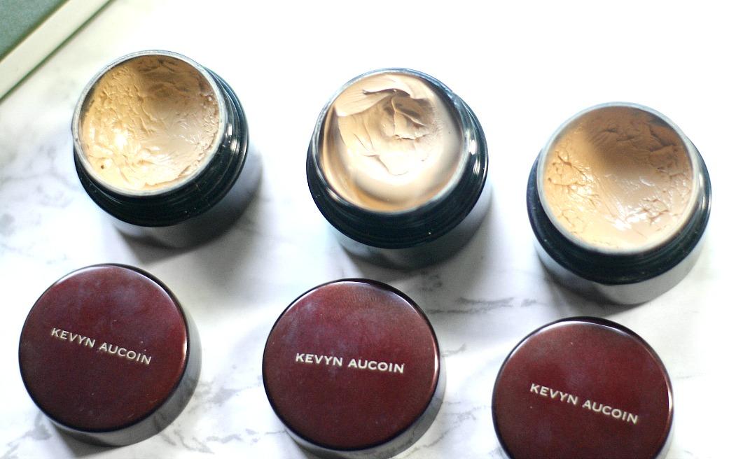 kevyn aucoin sensual skin enhancer sx06, sx07, sx08 review and swatches