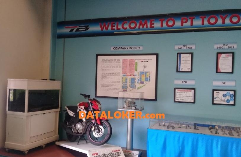 DATA LOKER | PT Toyobesq Precision Parts Indonesia Karawang