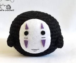 PATRON GRATIS NO FACE | SPIRITED AWAY AMIGURUMI 40157