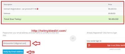 Cara Setting Domain diFreenom2