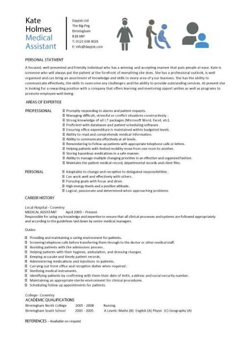 Resume Samples For Medical Assistants Clinical Medical Assistant Resume Sample Tips
