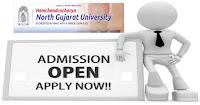HNGU online Admission 2018