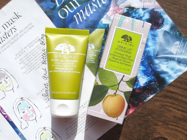 Origins Drink Up Intensive Overnight Mask to Quench Skin's Thirst Review