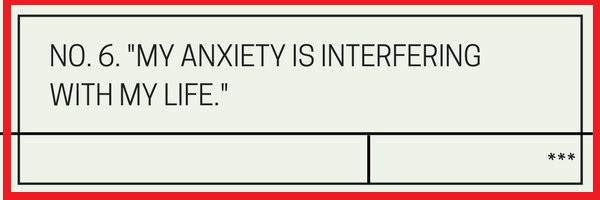 Question NO.6 My ANXIETY is intresting