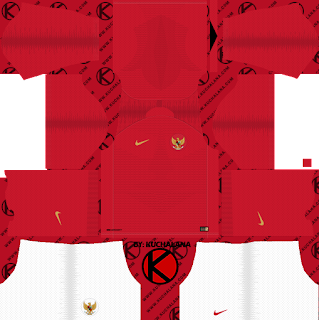 Indonesia 2018 Nike Kit - Dream League Soccer Kits