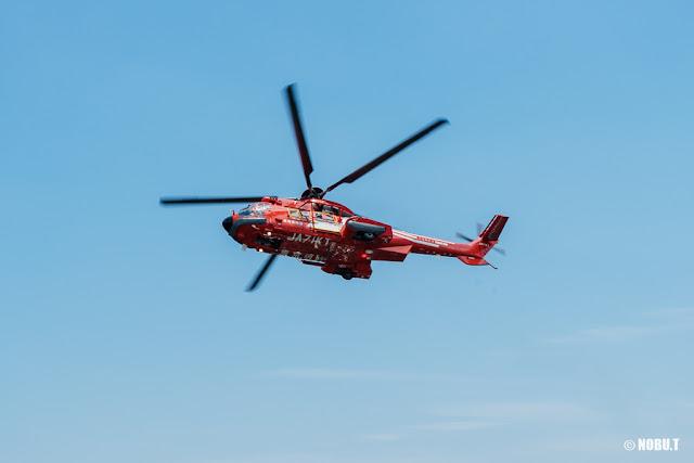 東京消防庁航空隊ヘリ「こうのとり」