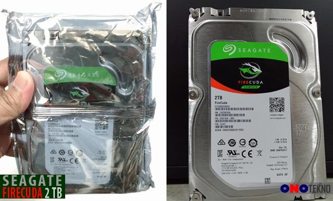 """Seagate FireCuda 2TB """" Cepat Dengan Teknologi SSD Plus Berkapasitas Besar """""""