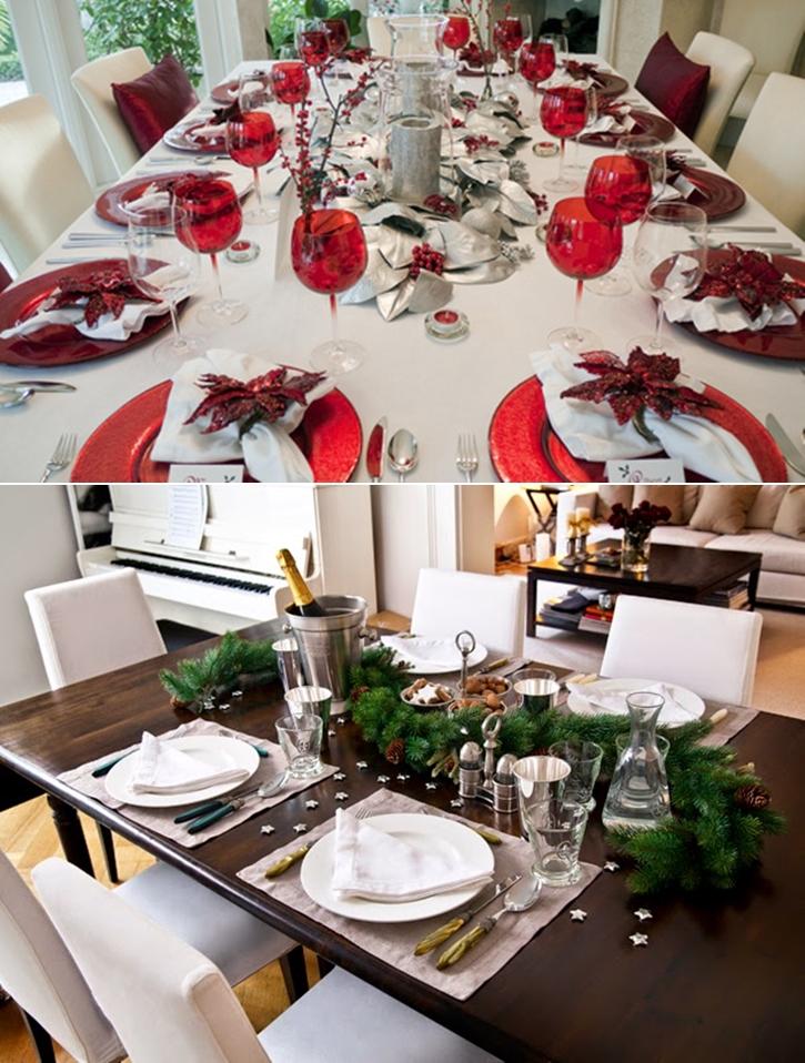 Como decorar la mesa para las fiestas besosdechocolateyfresa - Como decorar mesas para fiestas ...