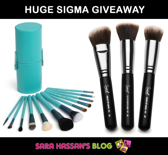 Sigma Giveaway