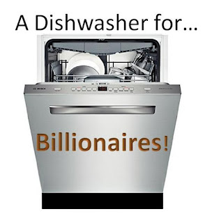 Dishwasher for Billionaires