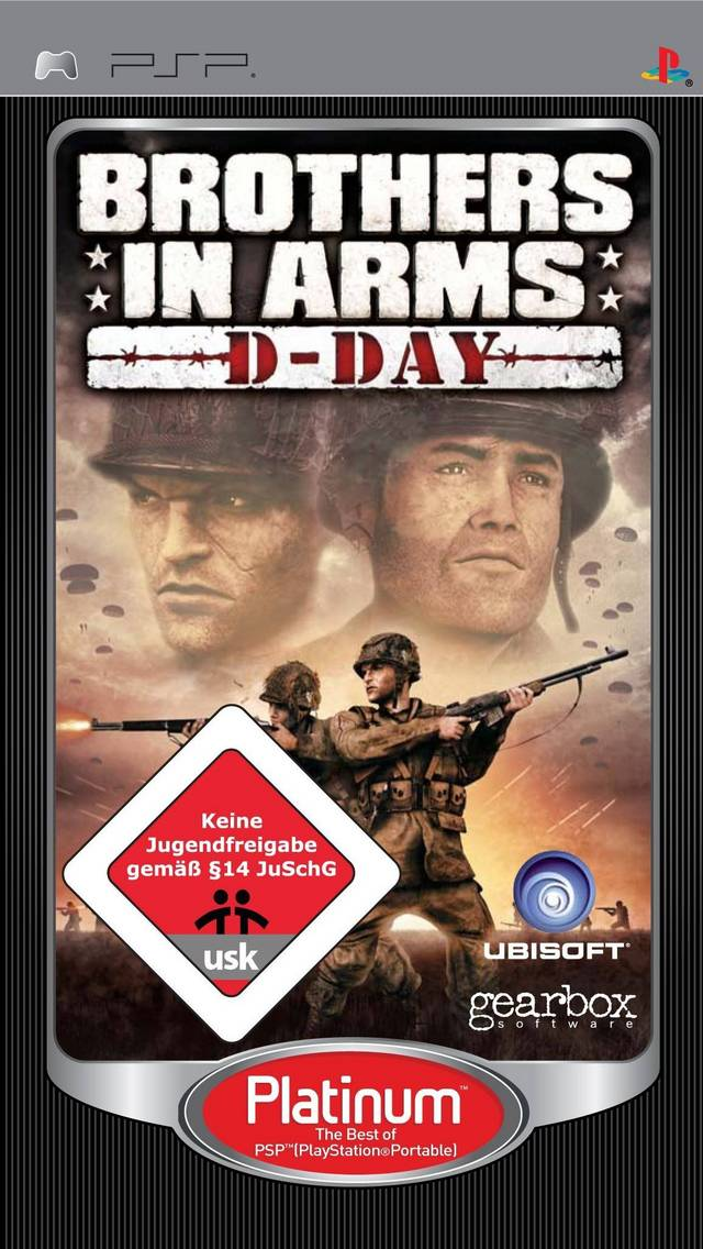 Download Games Free Download Brothers In Arms D Day Psp Free