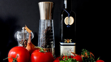 Oil, Vegetables, Spices, Fruits (Free)
