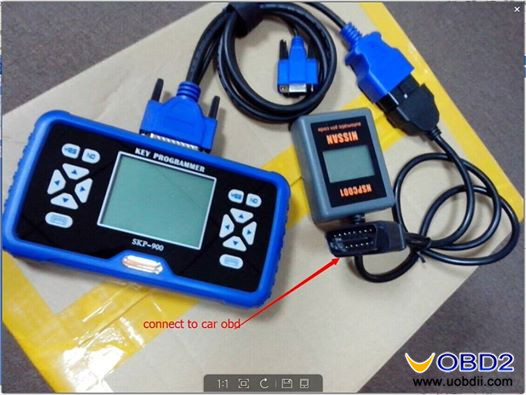 SKP900 and NSPC001 add new key for 2014 Nissan Altima OK-UOBDII COM