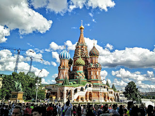 Russie Moscou Moscow Cathédrale