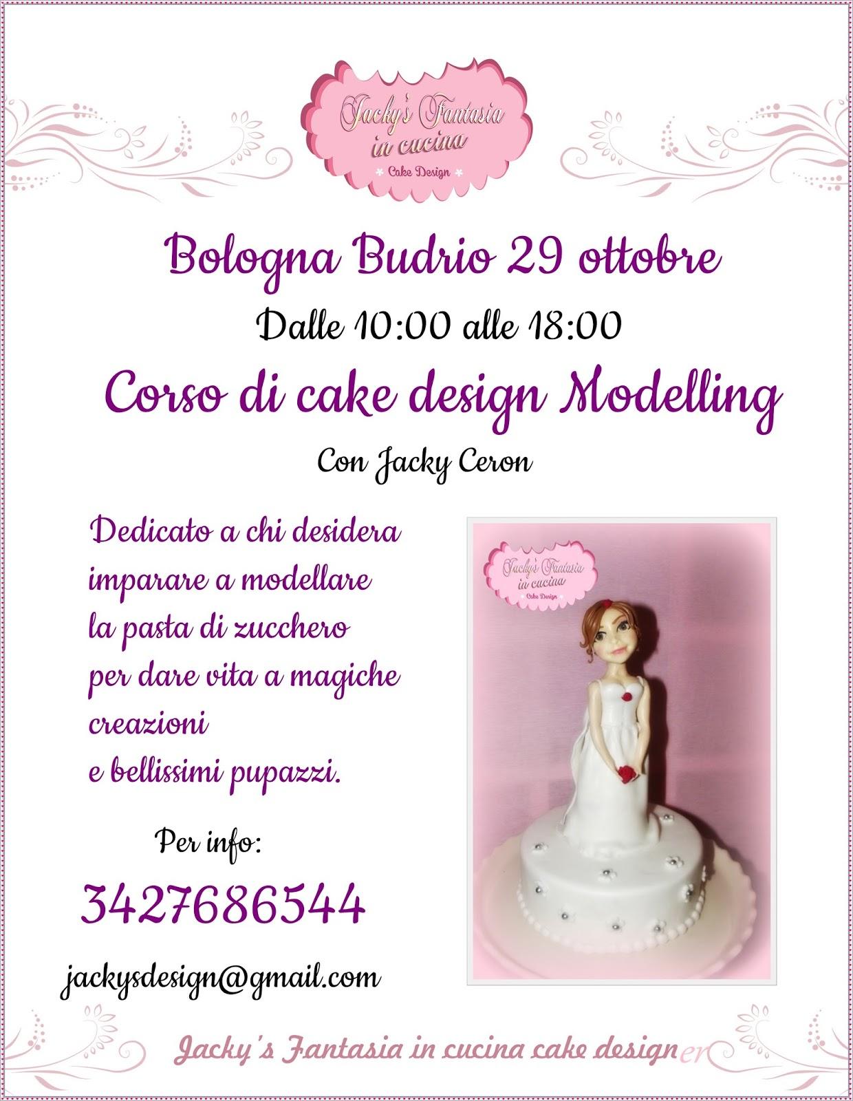 Corsi cake design budrio bo for Corso di designer