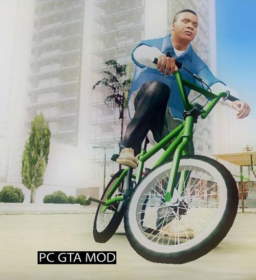 Free Download GTA V BMX V2 Mod for GTA San Andreas