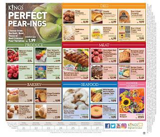 Kings Food Weekly Ad September 21 - 27, 2018