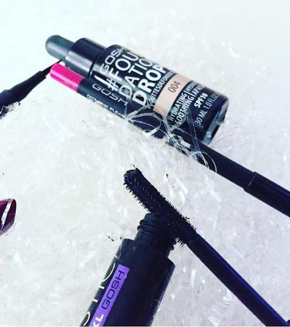 Mi top 5 productos recomendados de Gosh Cosmetics