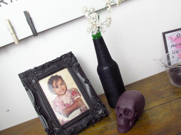DIYs para decoração de quarto, garrafa com barbante